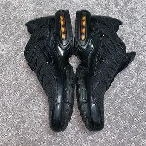Nike Air max plus TN triple black size/12